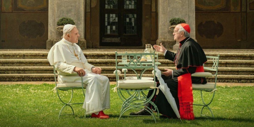 Cuplikan Film The Two Popes
