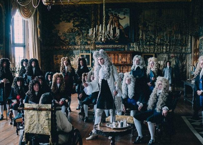 salah satu adegan di the favourite, review the favourite