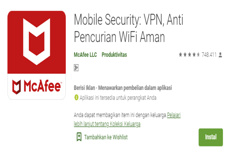 mcafee android